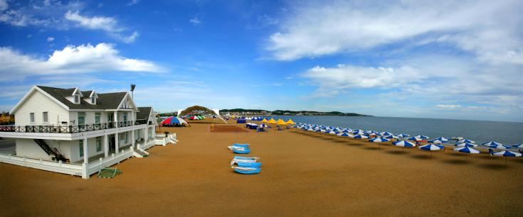 大连旅游必去景点海滩